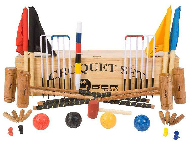 jeux de croquet et accessoires. Black Bedroom Furniture Sets. Home Design Ideas